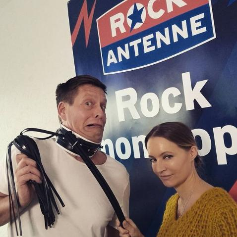 Lady Angelina bei Rock Antenne