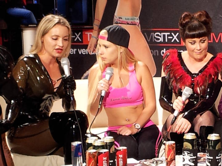Venus 2016 - Lady Angelina - Interview mit VISIT-X TV